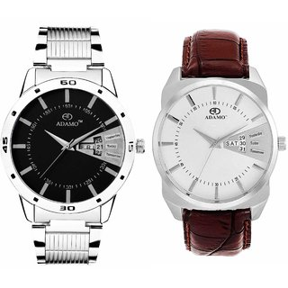 ADAMO Designer Men's Wrist Watch 800BR01-818SM02