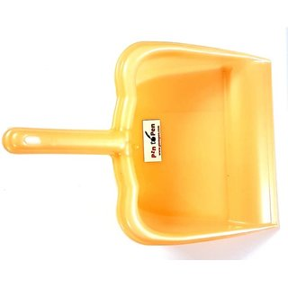 Pin to Pen Plastic Dustpan (Brown)