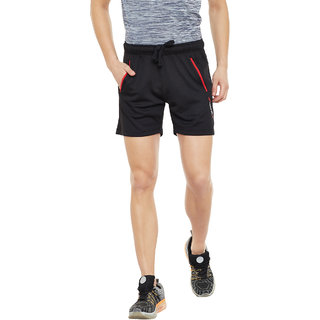 PERF Black Dri Fit Regular Fit Knit Short for Men