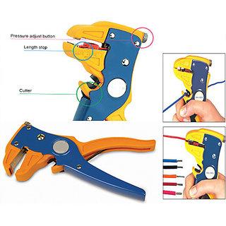 GetechAutomatic Wire Stripper Cutter Precise Blade Design