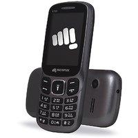 Micromax X730 Dual SIM Basic Phone (Black)