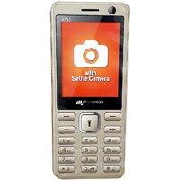 Micromax X740 Dual SIM Basic Phone (Blue)
