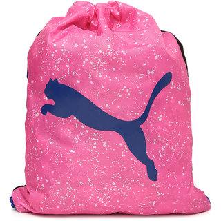 Puma Unisex Pink Alpha Gym Sack Backpack