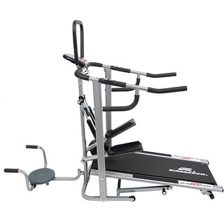 KAMACHI-4-in-1-MANUAL-TREADMILL-JOGGER-TWISTER-STEPPER-PUSH-UP-BAR