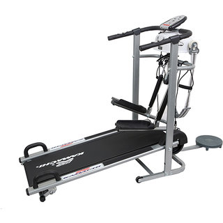 Kamachi 6 In 1 Manual Treadmill Home Jogger