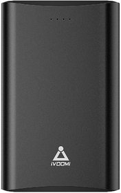 iVOOMi iV-PBL13K1 13000 mAh Power Bank  (Black, Lithium-ion)