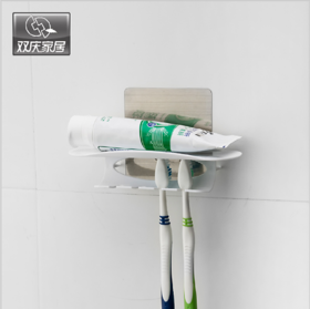 Magic Flexible Sticker Toothbrush Combination Holder - SUC5029