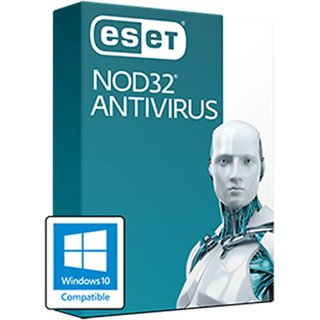 ESET NOD32 Antivirus (10PC / 1Year)  Latest Version Antivirus (Email Delivery in 2 hours- No CD)