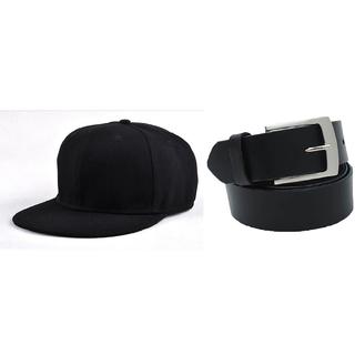 Combo of Black Cap and Black Belt(Pack of 2)(BCAPBB)