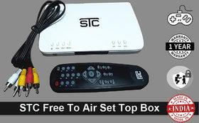 DVB-S2 SD Free To Air Satellite Receiver (S-600 No Recharge)