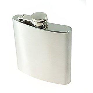 Pocket Stainless Steel Hip Flask 8 OZ