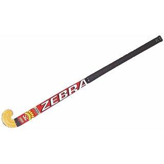 Teranga Zebra Double Fibre Glass Hockey Stick-Junior Size