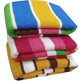 Angel homes set of 3 cotton bath towel