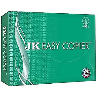 JK Easy copier unruled A4 Printer paper  Set of 1 white  Papers Copiers   Printing Supplies