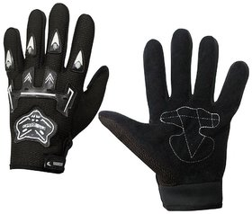 Knighthood Riding Gloves Black 002