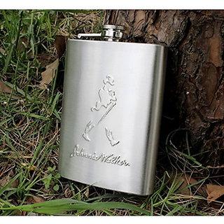 Vanyas jw steel hip flask