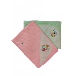 New Born Baby Hooded Double Terry Towels (Pack of 2) (Premium Quality- 100 Cotton)