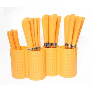 jony imperial Spoon Set (Cutlery Set) Orange