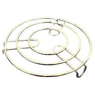Round Hot Pot Stand Plate Sand Stanless Steel (PC's -1)
