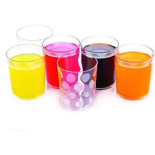 Jony Magic Glass (Tumbler) 6Pcs Set Unbreakable