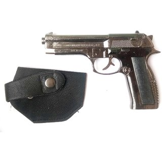 Jain Gift Gallery metal gun lighter with loading system  with cover