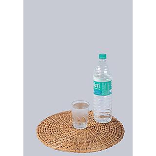 Cane Round Bottle mat