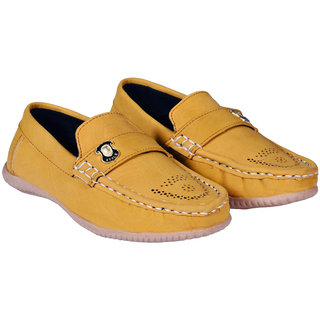 TOP FRIENDS PARTYWEAR/ CASUAL TAN COLOR MOCASSIONS FOR KIDS (45)