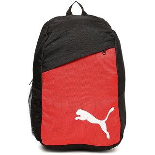 Puma Unisex Black Red Pro Training Backpack