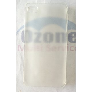 Apple iPhone 4 4S  Case Cover  Frost Transparent
