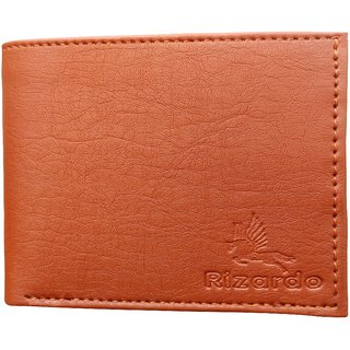 RIZARDO Men's  Wallet Leatherite Leather X45 (Synthetic leather/Rexine)