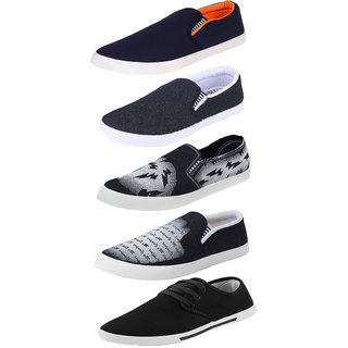 757747020f593 Buy Armado Footwear Men Combo Pack Of 5 Loafer Moccasins With Casual ...