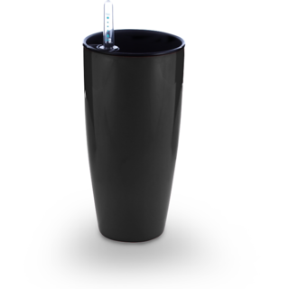 Liquids Self Watering Planter Black by MontyyBucks Inc