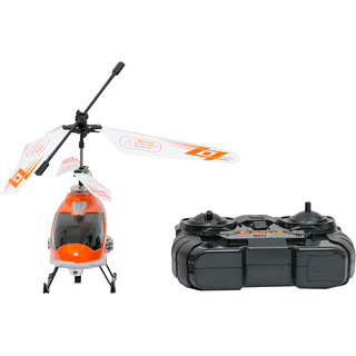 Helicopter Flying With Remote
