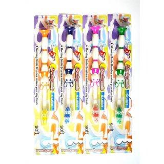 Pin to Pen Kids Toothbrush Rabbit (Pack of 4)