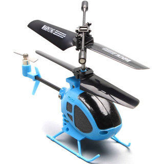 Brunte Blue Helicopter With Charger