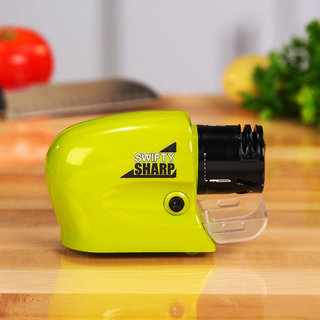 s4d Swifty Sharp - Cordless, Motorized Knife Blade Sharpener