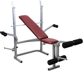 Paramount 8 IN 1 Foldable Bench For Muscle Building Wor