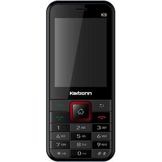 Karbonn K9 Jumbo Dual Sim Mobile Phone Red+Black
