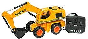 Zaprap Remote Control JCB Shovel Loader Truck Toy - Yellow