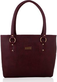 e7dc434732a4 Clementine Maroon Handbag (sskclem124)