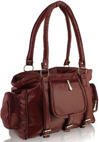 Clementine Maroon Handbag sskclem18