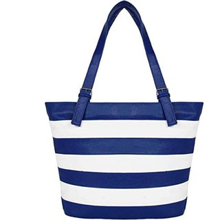Clementine Blue  white Handbag (sskclem201)