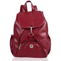 Clementine Maroon Handbag (sskclem141)