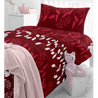Angel homes 3D Printed Premium Double Bedsheet + 2 Pillow Covers(PC-DBL-3D52)