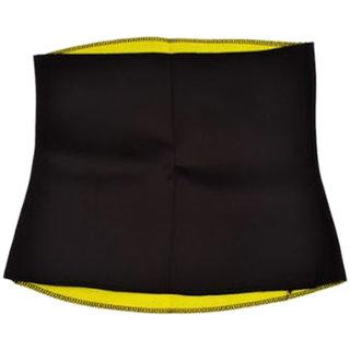Skycandle Hot Slimming Shaper Belt For Men/Women, Black (XL)