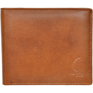 Chandair Pure Leather Light Tawny Brown Mens Wallet (CH-NW-03)