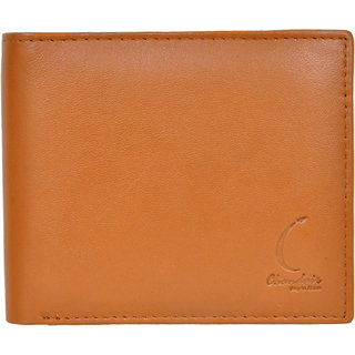 Chandair Pure Leather Light Rustic Oak Brown Mens Wallet (CH-NW-04)