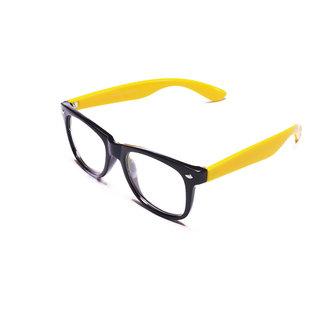 Derry Wayfarer Frame in Black Yellow