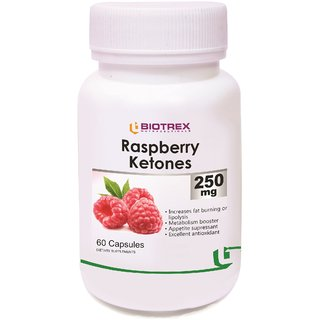 Biotrex Raspberry Ketones - 250mg 60 Capsules