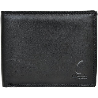 Chandair Pure Leather Black Mens Wallet (CH-NW-06)